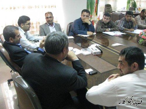 جلسه کمیته مدیریت پسماند