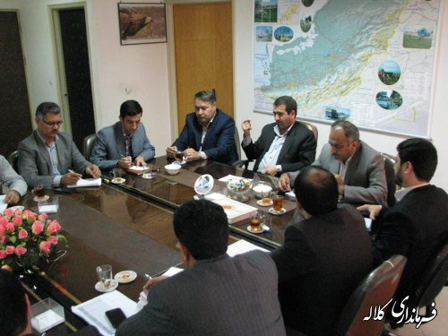 نشست با مدیرکل نوسازی مدارس استان
