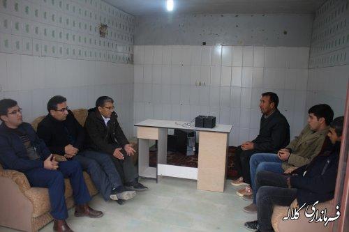 دیدار بخشدار پیشکمر با اعضای شورای اسلامی و دهیاری روستای خوجه یاپاقی