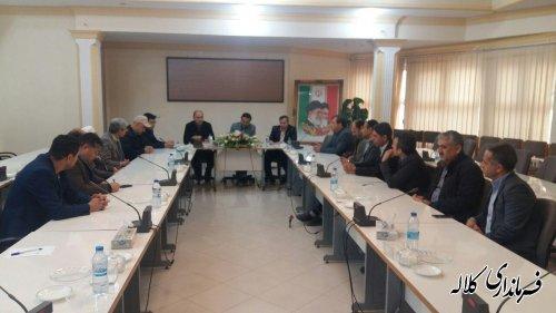 فرماندار کلاله در دیدار با احزاب سیاسی شهرستان