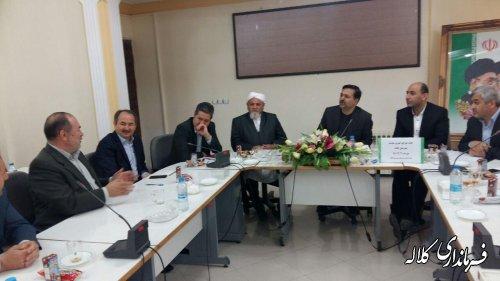 جلسه شورای خیرین سلامت شهرستان کلاله برگزار شد