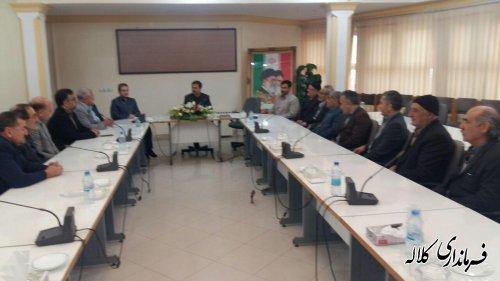 جلسه احزاب شهرستان کلاله برگزار شد