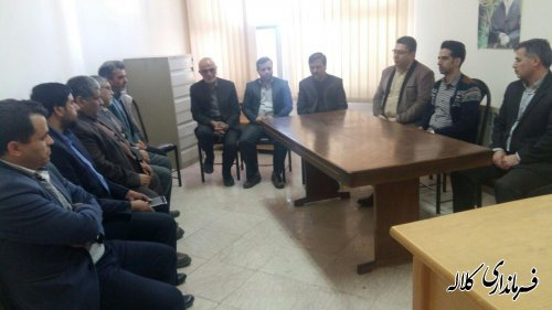 افتتاح اتاق احزاب و تشکل های سیاسی شهرستان کلاله
