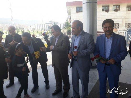 بدرقه کاروان زلزله زدگان کرمانشاه در گرگان