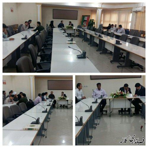 ملاقات عمومی فرماندار کلاله با مردم برگزار شد