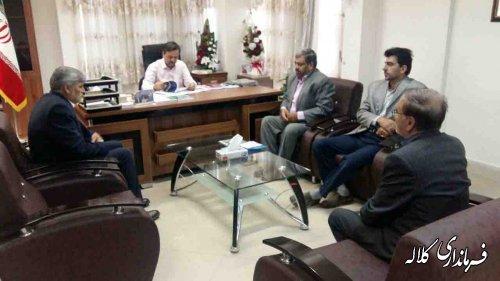 دیدار ستاد بازسازی عتبات عالیات شهرستان با فرماندار