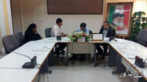 ملاقات عمومی فرمانداری کلاله برگزار شد