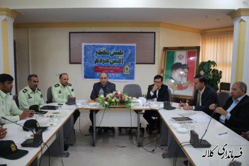 پنجمین جلسه مشترک دهیاران شهرستان برگزار شد