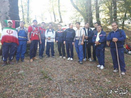 همایش کوهنوردی در شهرستان کلاله برگزار شد