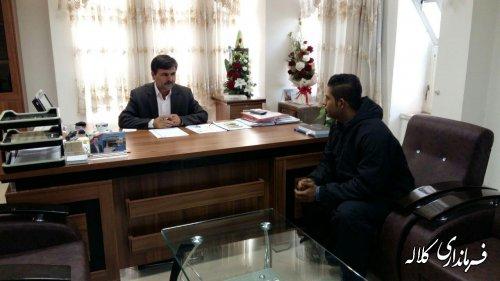 ملاقات عمومی فرماندار شهرستان کلاله برگزار شد