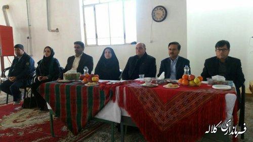 کارگاه آموزشی توانمندسازی تشکل های صنایع دستی در روستای عزیز آباد کلاله برگزار شد