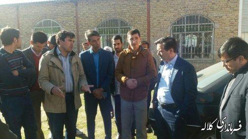 ملاقات مردمی فرماندار کلاله با مردم دهستان عرب داغ برگزار شد