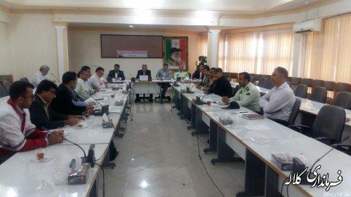 جلسه شورای هماهنگی مبارزه با مواد مخدر کلاله برگزار شد