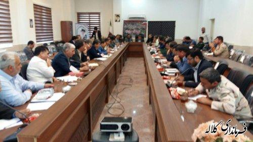 جلسه شورای عشایری شهرستان مراوه تپه با موضوع ارائه خدمات بهتر به عشایر منطقه  برگزار شد