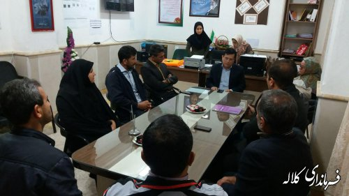 حضور بخشدار پیشکمر در جلسه شورای انجمن اولیا و مربیان دبیرستان شبانه روزی آل یاسین شهرفراغی