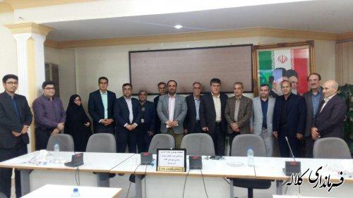 اعضای هیات اجرایی انتخابات شهرستان کلاله انتخاب شدند