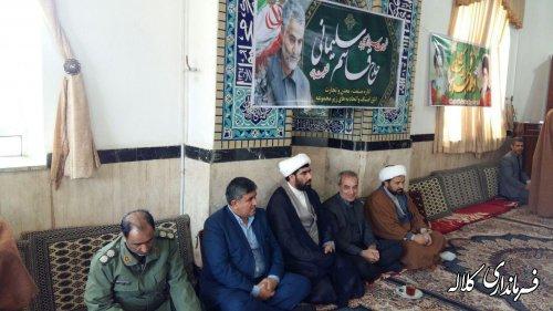 گزارش تصویری از مراسمبزرگداشت سردار آسمانی شهید حاج قاسم سلیمانی در کلاله