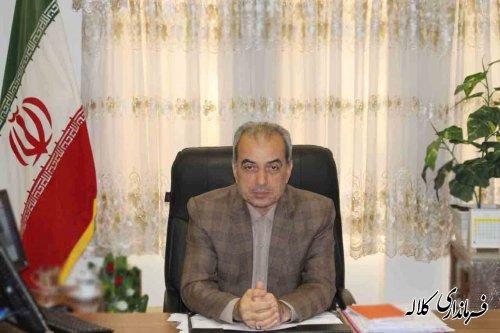 پیام تبریک فرماندار کلاله بمناسبت روز شوراها