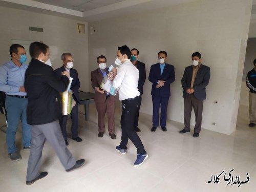 تجلیل از کارگران کارخانه آرد محمدی کلاله بمناسبت هفته کارگر