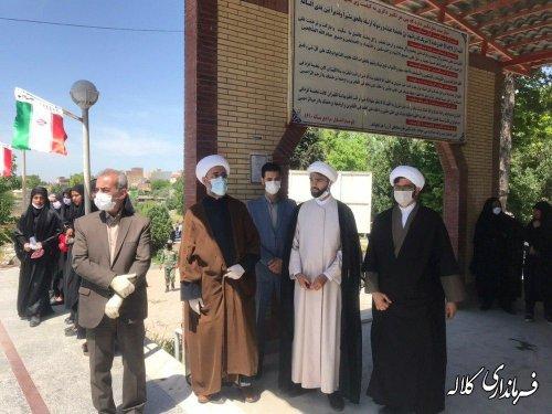 مراسم استقبال و تشییع پیکر مطهر شهید هاشمی خواه در کلاله برگزار شد