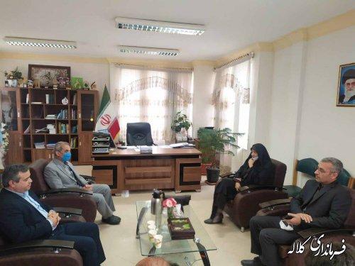 دیدار و گفتگوی مدیرکل فرهنگ و ارشاد اسلامی استان با فرماندار کلاله