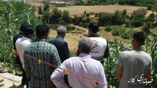 با اعتباری بالغ بر 2 میلیارد ریال دیوار حائل روستای قره یسر اجرایی شد