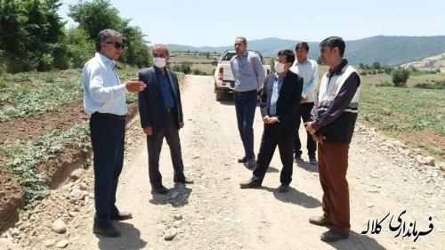 عملیات مرمت و بازسازی جاده بین مزارع روستای توتلی تمک_ سوار  با اعتبار بیش از ۶ میلیارد ریال اجرایی شد
