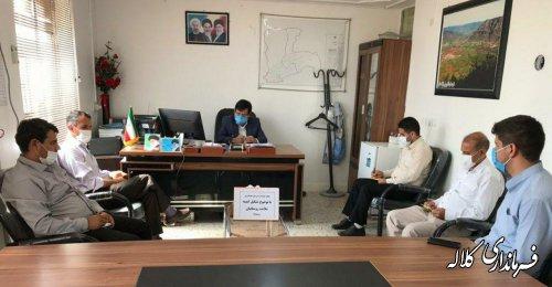 مصوبات جلسه کمیته ستاد مبارزه با کرونا استان در جلسه بخشدار پیشکمر با پرسنل بخشداری پیگیری شد