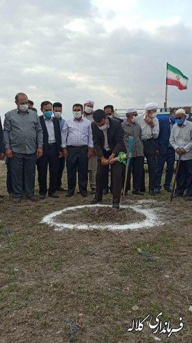 کلنگ احداث مرکز خدمات جامع سلامت روستای کنگور به زمین زده شد