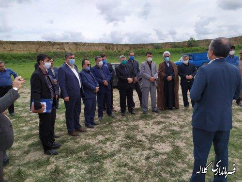 کلنگ اجرای عملیات مرمت و بهسازی آب بندان چمران به زمین زده شد
