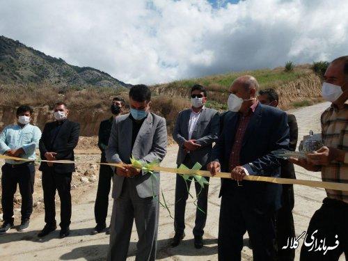 پروژه جدول هدایت آبهای سطحی و بهسازی معابر روستای زاوپایین و بالا افتتاح گردید