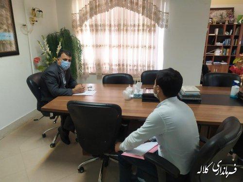 سرپرست فرمانداری کلاله به صورت چهره به چهره با شهروندان دیدار کرد