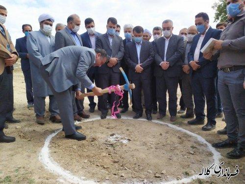 کلنگ احداث بزرگ ترین کارگاه پرورش ماهیان خاویاری شرق استان در کلاله به زمین زده شد