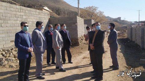 بازدید میدانی فرماندار کلاله از زیر ساخت های ارتباطی و مخابراتی روستاهای کلاله