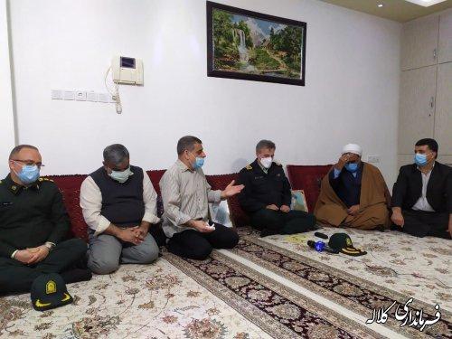 خبر شناسایی شهید جاویدالاثر نعمت الله گزمه به اعضای خانواده این شهید داده شد