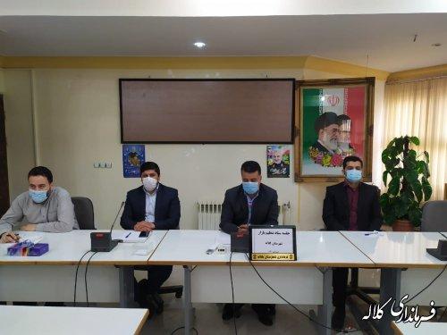 بمناسبت ماه مبارک رمضان ۴۲ تن روغن مایع در شهرستان کلاله توزیع شد
