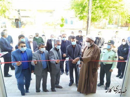 یک واحد تجاری در اداره آموزش و پرورش شهرستان افتتاح شد