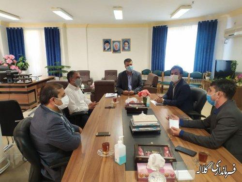 برگزاری جلسه هماهنگی واگذاری عرصه و تامین برق مرکز جهادکشاورزی دهستان تمران