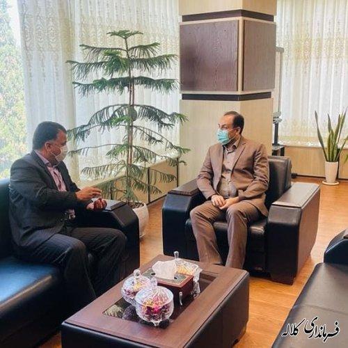 دیدار فرماندار کلاله با مدیرکل بهزیستی استان