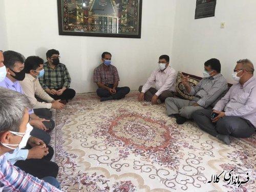 برگزاری جلسه هماهنگی اجرای پروژه آسفالت محور روستایی چیشت خوجه لر