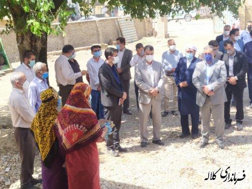 ۲۲۷ واحد مسکن روستایی در کلاله افتتاح و به بهره برداری رسید
