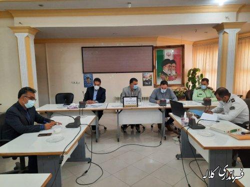 کلیه پیشنهادات جلسه شورای ترافیک کلاله کارشناسی شده مصوب و اجرایی شود