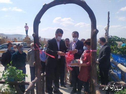 مزرعه گردشگری اورکر ترکمن در کلاله افتتاح شد