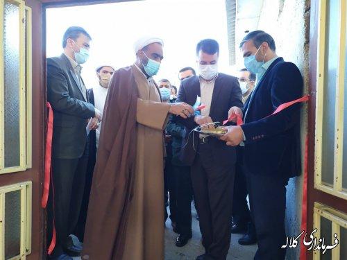 مرکز تجمیعی واکسیناسیون شهر کلاله راه اندازی شد